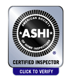 Certified by the National Association of Certified Home Inspectors - Click here to verify.